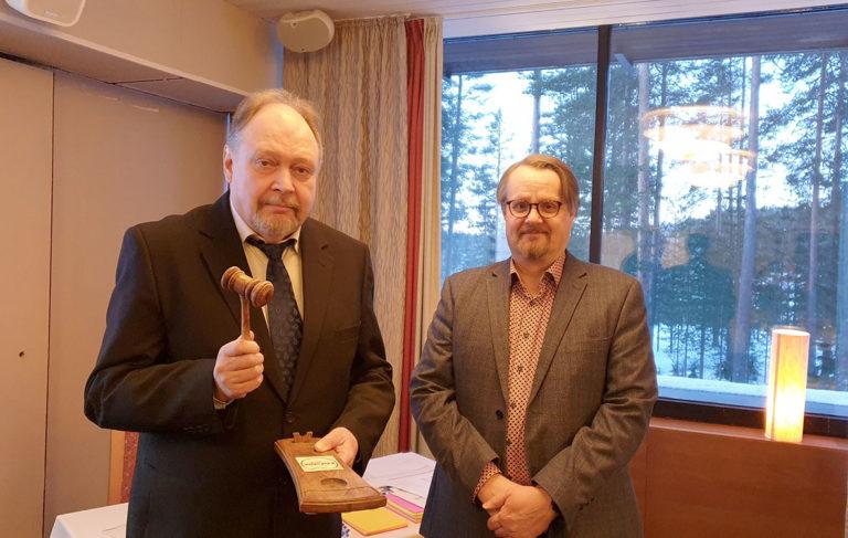 Jussi Halttunen ja Vesa Saarikoski
