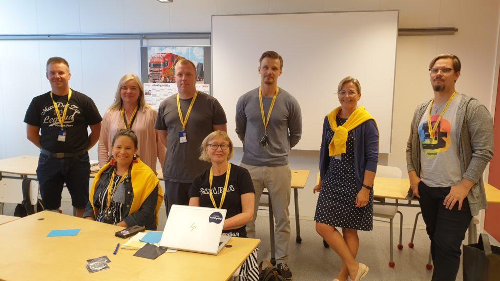 Ammatillisen koulutuksen EduFutura-koordinaattorit ryhmäkuvassa